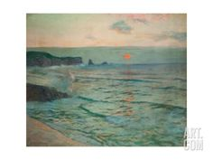 Incoming Tide Giclee Print by Albert Julius Olsson at Art.co.uk