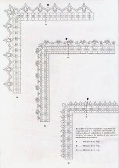 Anabelia la main: Les points d'échantillonnage et les bords de crochet, et un prix!