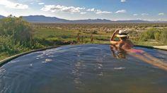 Lauren Renda at Spencer Hot Springs