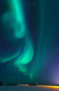 "'Give me Wings' - photo by Noppawat ""Tom"" Charoensinphon, via 500px;  Aurora above Mt. Aurora, Fairbanks, Alaska"