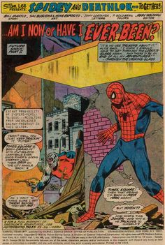 Diversions of the Groovy Kind: Making a Splash: Sal Buscema Team-Up