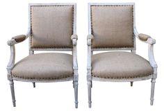 Louis XVI-Style Armchairs, Pair | Love the Look | One Kings Lane