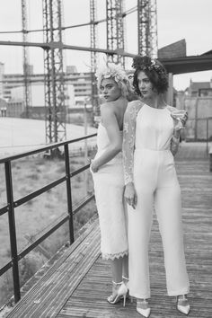 Looking for the perfect alternative to the traditional wedding dress for your same-sex marriage? Visit House of Ollichon for stunning bridal jumpsuits and separates. #bridalwear #samesexwedding #lgbt #lgbtq #bridetobe