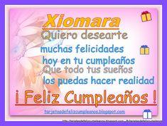Imágenes de feliz cumpleaños con nombre de mujeres | Descargar imágenes gratis Happy Birthday, Happiness, It's My Birthday Today, Messages, Globes, Women