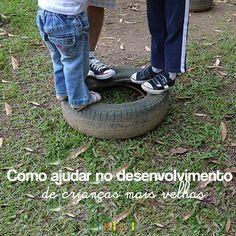 Brincando fora de casa: como ajudar no desenvolvimento das crianças #atividades #brincadeiras #ideias #criativas