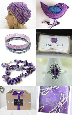 Royal Purples - Promoting Women by Marcia on Etsy--Pinned with TreasuryPin.com