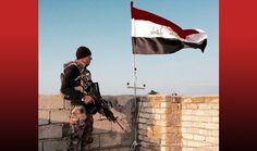 جهاز مكافحة الإرهاب يرفع العلم العراقي في القدس الأولى في الساحل الايسر للموصل