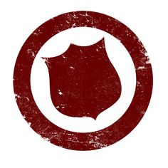 The Salvation Army- Shield- Maroon