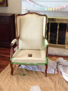 Life Frosting: Painting Upholstery