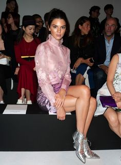 Kendall Jenner - Le premier rang du défilé Shiatzy Chen SS16 Front Row- October 6, 2015