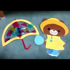 【アプリ投稿】透明傘 | みんなのタネ | あそびのタネNo.1[ほいくる]保育や子育てに繋がる遊び情報サイト