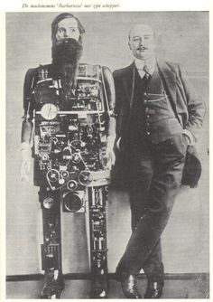 Bearded Robot - 1909 – Occultus / Barbarossa