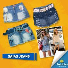 Estou BA-BAN-DO com essas saias! Ela com uma blusinha ficam MARA!   #apaixonada #look #melhorfeirinhadobrás
