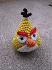 Ravelry: Angry Birds - Yellow Bird pattern by Adorable Amigurumi