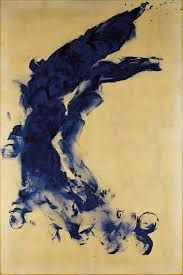 Image result for yves klein fire paintings