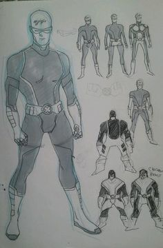 Stuart Immonen's All-New ALL-NEW X-MEN Costumes - Cyclops & the boys