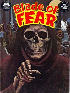 Cover for Blade of Fear (1976 series) #3