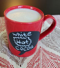 Who needs Starbucks when you can make your own Vegan White Hot Cocoa?
