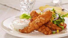 Oppskrift på Crispy chicken american style