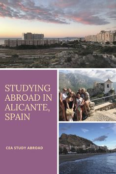 Why Study Abroad in Alicante, Spain? Stuff To Do, Things To Do, Alicante Spain, Study Abroad, Beautiful Things, Invite, Spanish, Ring, Beach