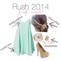 Sorority rush outfit - pref night