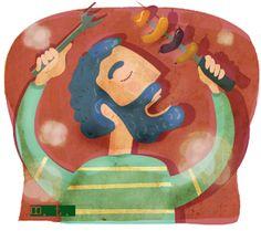 MartaToledo Ilustraciones: Crónicas- Revista Entrecasa Drawings, Home, Journals, Illustrations, Art, Sketch, Portrait, Drawing, Resim