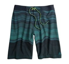 PrAna Men's Sediment Swim Shorts: Mindfulness is at the core of everything PrAna does, which means choosing sustainably produced fabrics, reducing packaging, using recycled goods and operating with the health of people and the planet in mind. These versatile shorts dry quickly and are designed to block harmful UV radiation.