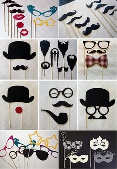 Fun Photobooth Props!