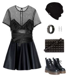 Punk Gothic by pupuwang on Polyvore featuring Alexander Wang, MSGM, Maison Margiela and UGG Australia