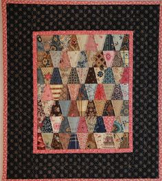"""Charmed"" miniature quilt by TerrieSandelin, via Flickr"