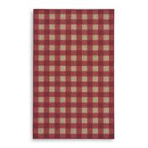 Found it at Wayfair - French Check Red Check Rug