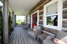 153 Bevan Ridge Drive. Haldimand Hills, Ontario. Side porch.