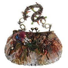 Used Mary Frances Handbags Vintage Purses, Vintage Bags, Vintage Handbags, Vintage Shoes, Mary Frances Purses, Mary Frances Handbags, Beaded Purses, Beaded Bags, Diy Sac