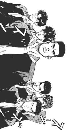 Best ideas for basket ball anime slam dunk Manga Anime, Manga Art, Anime Guys, Slam Dunk Manga, Inoue Takehiko, King Of Fighters, Manga Pages, Manga Illustration, Manga Comics