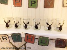 Deer Hunting Birthday Party Theme | 30th Birthday-Hunting Themed Birthday Party Decor Set- Banners, Signs ...