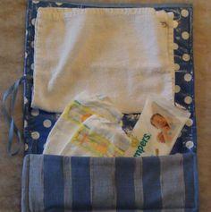 Baby diaper clutch (baby bleier bag)