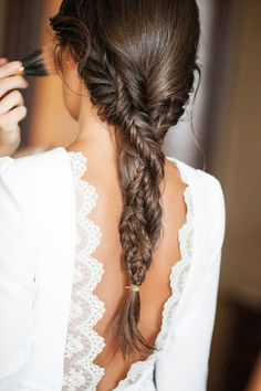 Red Inward Braids for Rocking Queens - 20 Under Braids Ideas to Disclose Your Natural Beauty - The Trending Hairstyle Bride Hairstyles, Messy Hairstyles, Pretty Hairstyles, Curly Hair Braids, Curly Hair Styles, Corte Y Color, Trending Hairstyles, Bridesmaid Hair, Hair Day
