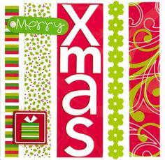 Merry Xmas - Scrapbook.com