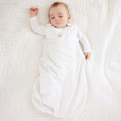 Star Velour Sleeping Bag 2.5Tog from The White Company