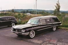 1960 Buick Hearse.