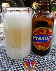 Prestige beer Haiti