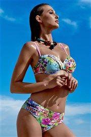 e5ffcded958c Dámske luxusné dvojdielne plavky Maui farebná Kostýmy