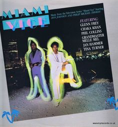 Miami Vice – Music From The Television Series – LP Vinyl Record
