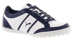 Score big on style and performance with these cool monolite cat golf shoes by Puma