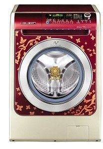 ♂ Well, I am not interesting in this designer washing machine. But it's some kind of luxury item some people would love to have. Samsung Washing Machine, Attitude, Samsung Washer, Doing Laundry, New Gadgets, Dream Rooms, Unique Furniture, Luxury Interior, Washing Clothes