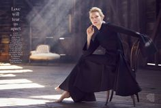 MAP - News – Will Davidson Shoots Cate Blanchett and Richard Roxburgh for Vogue Australia Cover Story