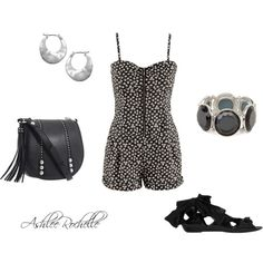 Short Jumpsuit, created by ashlee470 on Polyvore