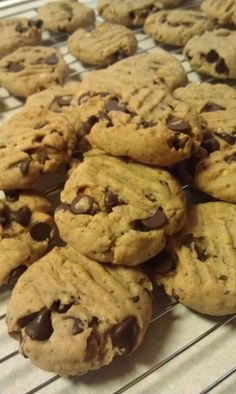 Peanut Butter Chocolate Chunk Cookies...A Healthier Cookie Recipe!