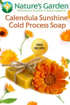 Calendula Sunshine Cold Process Soap Recipe