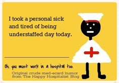 See the rest of the sick call humor (including flu humor too)!